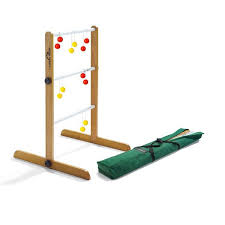 Wooden Ladder Ball Game Simple Ladder Golf Single Game