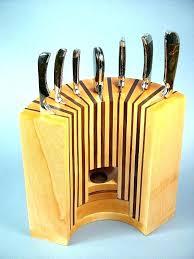 best knife storage olive magnet block modern organizer drawer insert wood steak knife storage box best