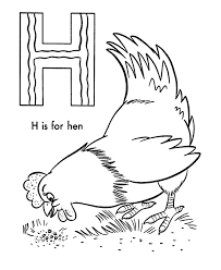 Small Picture Hen Coloring Page Kids Coloring