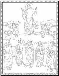 Small Picture Mary Queen of May Crowning Coloring Page Mary Coloring Pages