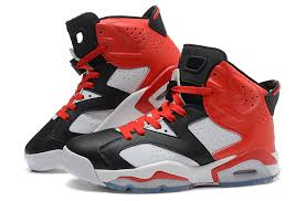 black jordan shoes 2016 for girls. nike air jordan 6 retro black white red for sale-1 shoes 2016 girls