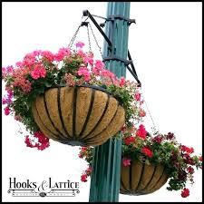 outdoor silk flowers artificial hanging baskets flower decoration