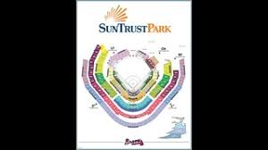Suntrust Park Seating Chart With Rows Braves Parking Heres Where To Park At The New Atlanta