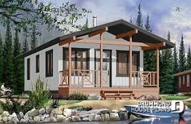 Cabin Plans & Affordable Small Cottages from DrummondHousePlans.com