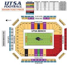 Ut Football Seating Chart Football Tickets Tickets And Parking Roadrunner Athletic