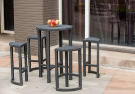 space saving patio furniture. tf131007 outdoor rattan bar set space saving all weather wicker patio furniture