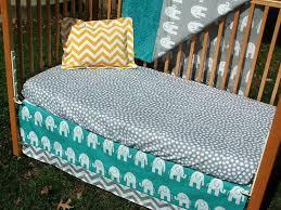 image of hippie crib bedding