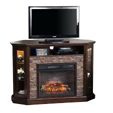 infrared electric fireplace tv stand southern enterprises