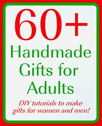 Handmade Gifts For Adults Over 60 Ideas  The Country Chic CottageGifts To Make For Christmas For Adults