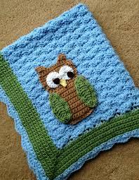 Crochet Owl Blanket Pattern Free