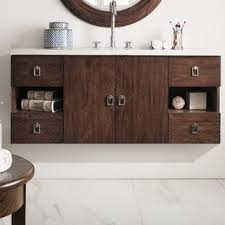 stylish modular wooden bathroom vanity. Hobbs 48\ Stylish Modular Wooden Bathroom Vanity