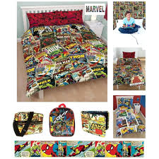 comic book duvet covers comic book double duvet covers official marvel comics bedding and bedroom accessories