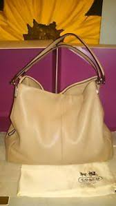 ... COACH-BEIGE-MADISON-SOFT-LEATHER-PHOEBE-LARGE-PURSE-