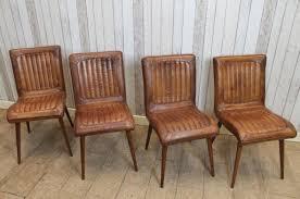 vintage style chairs. Modren Vintage VINTAGE STYLE LEATHER CHAIRS DINING In Vintage Style Chairs
