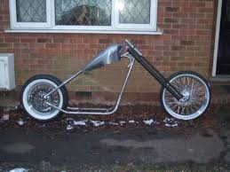 here s how to build a chopper frame