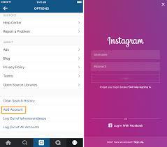 create multiple accounts in insram