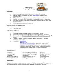 Surgical Tech Resume Samples Resume Examples