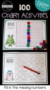 Free Hundreds Chart Worksheets Math Classroom Math