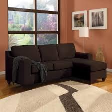 acme furniture vogue chocolate micro fiber sectional sofa