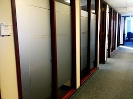 office glass frosting. Office Privacy Film Calgary Glass Frosting
