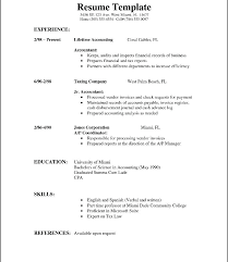 Official Resume Format Fascinating Official Resume Template Official Resume Format Download Template
