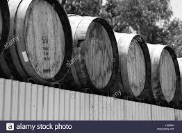 storage oak wine barrels. A Stack And Row Of Aged Oak Wood Cask Barrels For Wine Storage Outdoors W