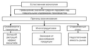 Государственное регулирование естественных монополий Реферат  Рис 1 1 Экономическая природа естественной монополии 2