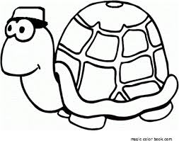 Small Picture Turtle coloring pages online free kids