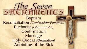 catholic prayer cards seven sacraments seven gifts of the holy spirit
