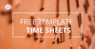 Excel Timesheet Download Timesheet Templates In Excel For Independent Consultants