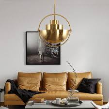industrial type furniture. Style: Art Deco Material: Metal Number Of Light Sources: 1. Body Acrylic. Switch Type: Line Switch. Diameter: D40*H50CM Color: Gold Industrial Type Furniture