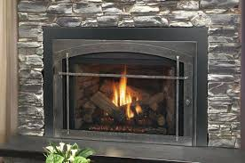 gas fireplace insert cost to operate installing in existing ventless safety