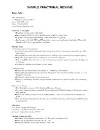 Image Result For Functional Resume Example Pdf Resumes Pinterest