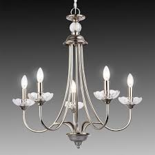 image of luxury 5 arm chandelier