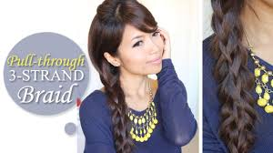 Layered Braids Hairstyles Intricate Pull Through Braid Hairstyle Long Hair Tutorial Youtube