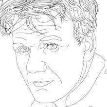Famous People Coloring Pages Hellokidscom