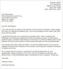 Example Cover Letter For First Job Accounting Cover Letter Examples Cover Letter Now