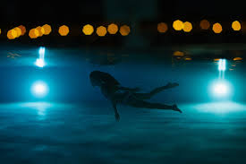Image result for night swim pool