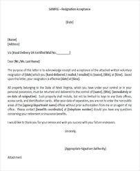 34 Sample Resignation Letter Templates | Sample Templates