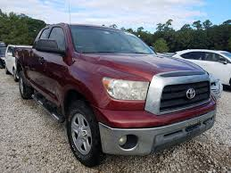Running footage of 2009 toyota tundra regular cab pickup truck with sport apperance package. 2009 Toyota Tundra Double Cab Rear End Damage 5tfrt54199x029130 Sold