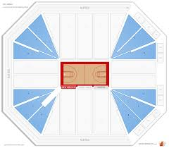 Dreamstyle Arena New Mexico Seating Guide Rateyourseats Com
