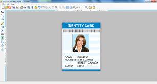 Free Label Maker Software Photo Id Card Creator Flyer Leaf
