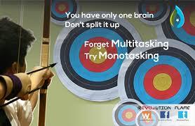 multi tasking vs mono tasking revolution flame