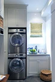 stackable washer dryer cabinet stacked washer dryer stacked washer dryer closet size