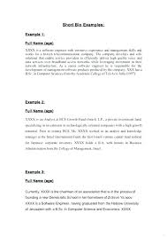 Babysitter Self Biography Examples Example For Students