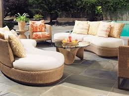 Outdoor & Garden Luxury Modern Pool Side Patio Furniture Set With