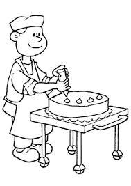 Bakery Coloring Pages Only Coloring Pages