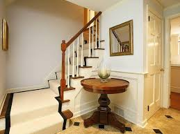 entryway decor ideas with round table