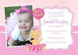 1st birthday invitation birthday invitations