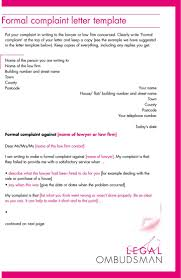 Complaint Letter Template In Word